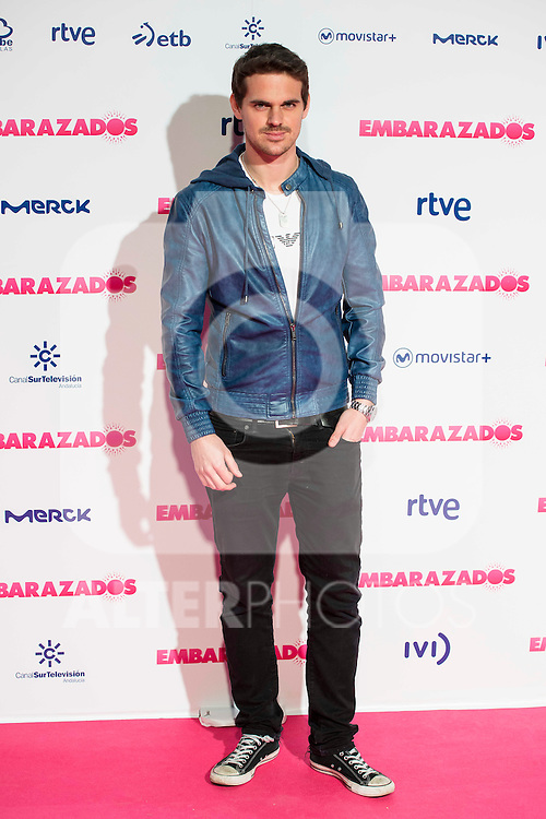 Gonzalo Ramos attends to the premiere of the film &quot;Embarazados&quot; at Capitol Cinemas in Madrid, January 27, 2016.<br /> (ALTERPHOTOS/BorjaB.Hojas)