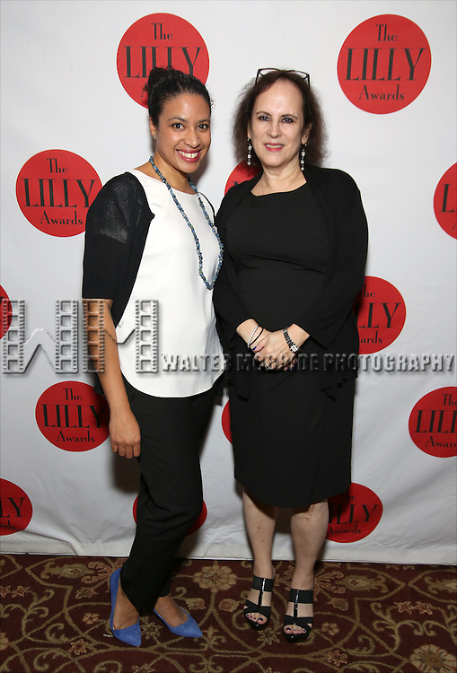 attends The Lilly Awards Broadway Cabaret at the Cutting Room on October 17, 2016 in New York City.