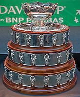 Gent, Belgium, November 26, 2015, Tennis, Davis Cup Final, Belgium-Great Britain, draw ceremonie, The Davis Cup<br /> Photo: Tennisimages/Henk Koster