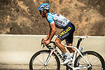 Alexis Guerin (FRA) Delko Marseille Provence from the breakaway during Stage 6 of the 10th Tour of Oman 2019, running 135.5km from Al Mouj Muscat to Matrah Corniche, Oman. 21st February 2019.<br /> Picture: ASO/K&aring;re Dehlie Thorstad | Cyclefile<br /> All photos usage must carry mandatory copyright credit (&copy; Cyclefile | ASO/K&aring;re Dehlie Thorstad)