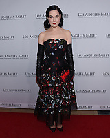 April 11, 2019 - Beverly Hills, California - Dita Von Teese. Los Angeles Ballet Gala 2019 held at The Beverly Hilton Hotel. Photo Credit: Billy Bennight/AdMedia