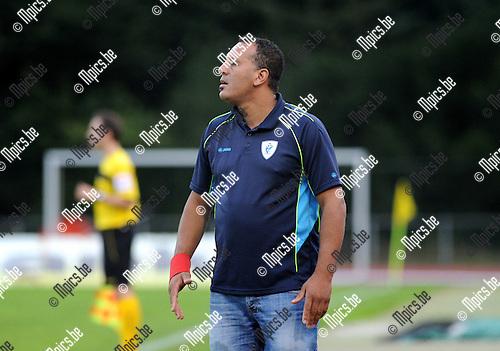2014-08-27 / Voetbal / seizoen 2014-2015 / KV Turnhout / Mohamed Barka<br /><br />Foto: Mpics.be