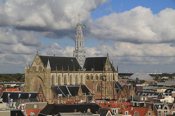 The Grote Kerk (great church) in the town square, Haarlem, Netherlands .  John offers private photo tours in Denver, Boulder and throughout Colorado, USA.  Year-round. .  John offers private photo tours in Denver, Boulder and throughout Colorado. Year-round.
