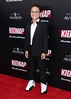"31 July 2017 - Hollywood, California - Sage Correa.  ""Kidnap"" Los Angeles premiere held at Arclight Hollywood in Hollywood. Photo Credit: Birdie Thompson/AdMedia"