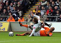 2009 10 24 Coca Cola Championship, Swansea City v Blackpool at the Liberty Stadium, Swansea, UK.