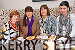 The coffee morning in aid of Chernobyl Children was a huge success at Killarney Golf and Fishing Club last Thursday.<br /> L-R Bridie Brosnan, Anne Geiler, Eileen and Orla Tarrant.