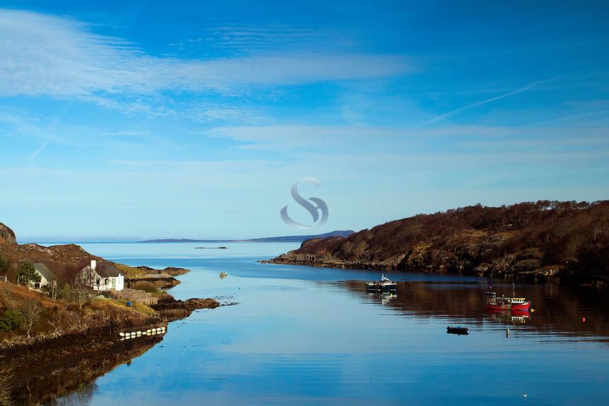 Loch Beag, Loch Torridon, Ross & Cromarty, Northwest Highlands