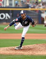 Adam Cimber - San Diego Padres 2018 spring training (Bill Mitchell)