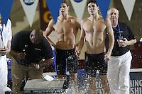 The University of Florida's 400 Yard Medley Relay Team competes at the 2011 Men's NCAA Swimming & Diving Championships being held at the University of Minnesota in Minneapolis, MN. March 24th - 26th, 2011.