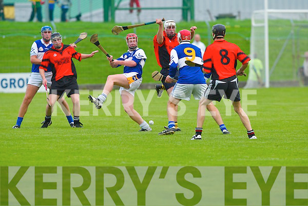 Ardfert v Ballyheigue in the quarter-final of the<br />AIB County Senior Hurling Championship at<br />Austin Stack Park, Tralee, on Friday.