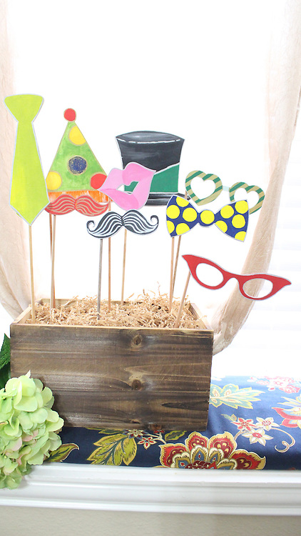 Your Wooden Photo Booth Props!!!