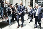 Real Madrid's coach Zinedine Zidane arrives to Crystal Gallery of the Palacio de Cibeles in Madrid, May 22, 2017. Spain.<br /> (ALTERPHOTOS/BorjaB.Hojas)