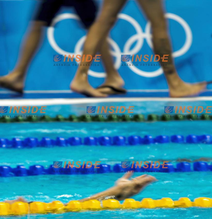 crossing feet<br /> Traning<br /> Rio de Janeiro 06-08-2016 XXXI Olympic Games <br /> Olympic Aquatics Stadium <br /> Swimming 04/08/2016<br /> Photo Giorgio Scala/Deepbluemedia/Insidefoto