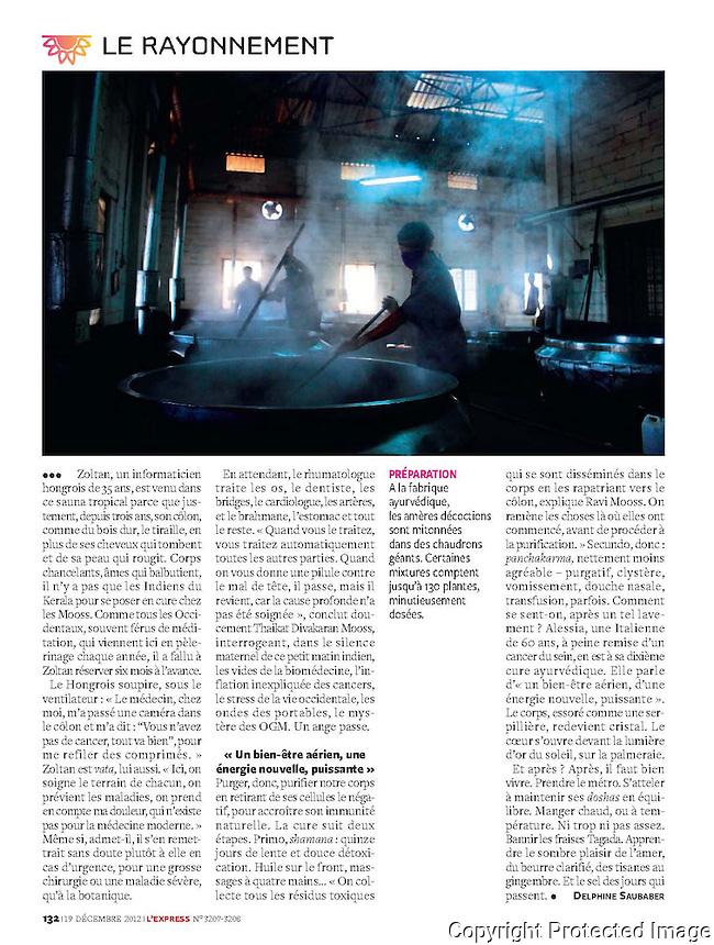 L'Express Magazine Paris : India Special Issue