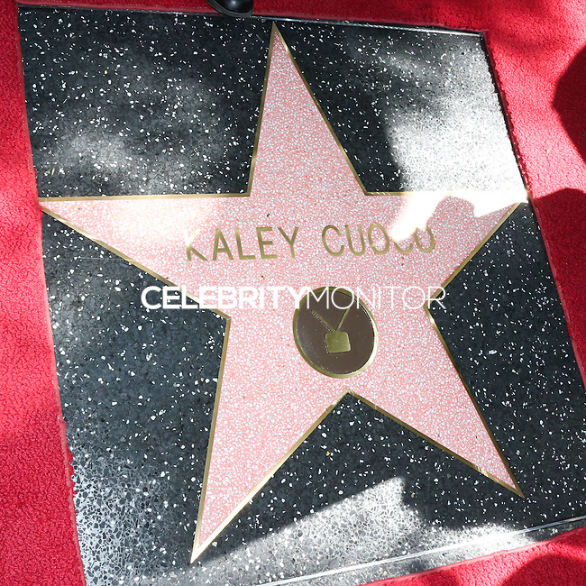 HOLLYWOOD, LOS ANGELES, CA, USA - OCTOBER 29: Atmosphere at the ceremony honoring Kaley Cuoco with a star in the Hollywood Walk Of Fame on October 29, 2014 in Hollywood, Los Angeles, California, United States. (Photo by Xavier Collin/Celebrity Monitor)
