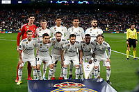 Real Madrid CF's team during UEFA Champions League match, Round of 16, 2nd leg between Real Madrid and AFC Ajax at Santiago Bernabeu Stadium in Madrid, Spain. March 05, 2019.(ALTERPHOTOS/Manu R.B.)<br /> Champions League 2018/2019<br /> Real Madrid - Ajax Ottavi di Finale <br /> Foto Alterphotos / Insidefoto
