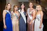 Michelle O Connor, Catherine Rahilly, Rose of Tralee Maggie McEldowney, Katie Galvin and Sarah Louise O'Connell at the Kerry Rose Selection at Ballyroe Heights Hotel on Friday Night.