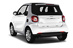 Car pictures of rear three quarter view of 2017 Smart Fortwo Passion 2 Door convertible Angular Rear