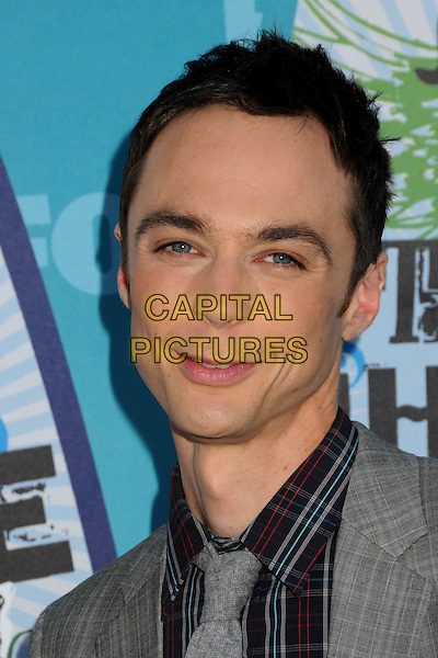 JIM PARSONS.Teen Choice Awards 2010 - Arrivals held at Universal Studios Gibson Amphitheatre, Universal City, California, USA.August 8th, 2010.headshot portrait black grey gray.CAP/ADM/BP.©Byron Purvis/AdMedia/Capital Pictures.