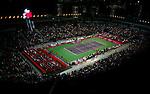 Tenis, FED CUP, world group B.Serbia Vs. Japan.Ana Ivanovic Vs. Ai Sugiyama.Belgrade Arena, Beogradska Arena.Ana Ivanovic.Beograd, 07.02.2009. .Photo: © Srdjan Stevanovic/Starsportphoto.com