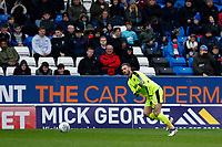 Chris Neal of Fleetwood Town during the Sky Bet League 1 match between Peterborough and Fleetwood Town at London Road, Peterborough, England on 28 April 2018. Photo by Carlton Myrie.