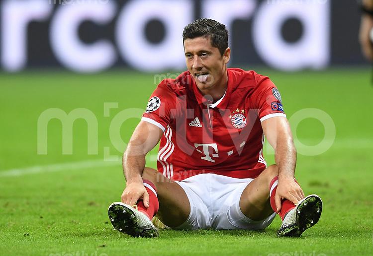 FUSSBALL CHAMPIONS LEAGUE SAISON 2016/2017 GRUPPENPHASE FC Bayern Muenchen  - FK Rostow              13.09.2016 Robert Lewandowski (FC Bayern Muenchen)