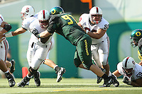 2 September 2006: Ismail Simpson and Alex Fletcher during Stanford's 48-10 loss to the Oregon Ducks at Autzen Stadium in Eugene, OR.
