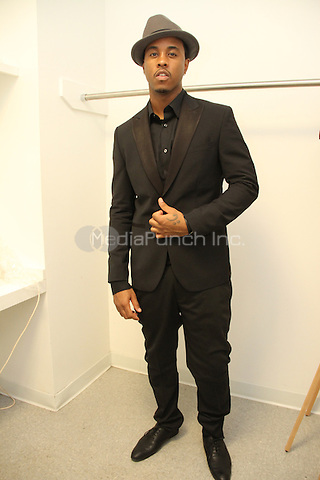NEW YORK, NY - NOVEMBER 18, 2013<br /> <br /> Jeremih backstage at the Global Spin Awards at The New York Times Center, October 18, 2013 in New York City. (Exclusive)<br /> Walik Goshorn/ MediaPunch Inc..