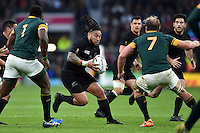 Ma'a Nonu of New Zealand in possession. Rugby World Cup Semi Final between South Africa and New Zealand on October 24, 2015 at Twickenham Stadium in London, England. Photo by: Patrick Khachfe / Onside Images