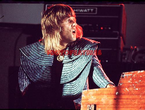ELP 1972 Keith Emerson.© Chris Walter.