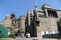Italcementi Group. Cementeria di Colleferro.Cementificio.Cement plant...