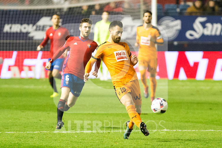 "Eibar's Eibar's Antonio Luna  during the match of ""Copa del Rey"" between CA Osasuna and Eibar at El Sadar Stadium in Pamplona. January 03 2017. (ALTERPHOTOS/Rodrigo Jimenez)"