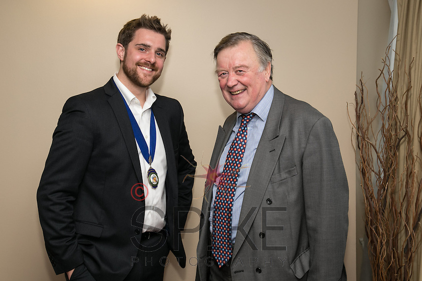 NCBC President Jonathan English and Ken Clarke MP