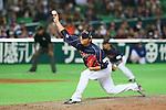 Tadashi Settsu (JPN), .MARCH 2, 2013 - WBC : .2013 World Baseball Classic .1st Round Pool A .between Japan 5-3 Brazil .at Yafuoku Dome, Fukuoka, Japan. .(Photo by YUTAKA/AFLO SPORT)