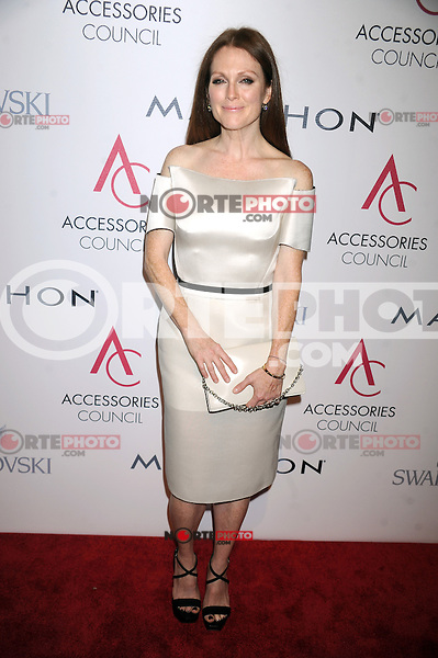 NEW YORK, NY - NOVEMBER 5: Julianne Moore at the 16th Annual ACE Awards presented by the Accessories Council at Cipriani 42nd Street on November 5, 2012 in New York City. Credit: mpi01/MediaPunch inc. /NortePhoto .<br />