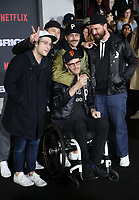 WESTWOOD, CA - DECEMBER 13: Portugal the Man, at Premiere Of Netflix's 'Bright' at The Regency Village Theatre, In Hollywood, California on December 13, 2017. Credit: Faye Sadou/MediaPunch /NortePhoto.com NORTEPHOTOMEXICO