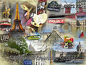 MODERN, MODERNO, paintings+++++GST_I Heart Paris,USLGGST172,#N#, EVERYDAY ,collages,puzzle,puzzles ,photos ,Graffitees