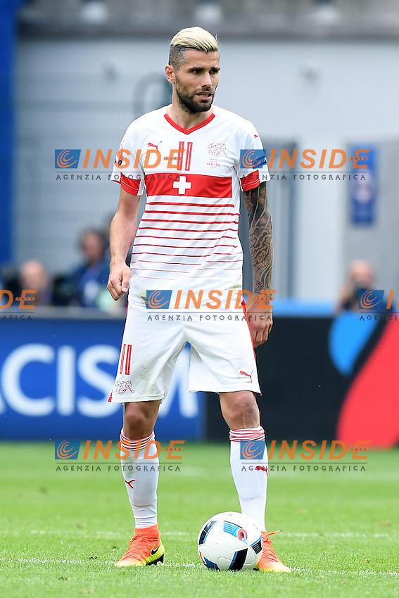 Lens 11-06-2016 Stade Bollaert-Delelis Football  - Euro 2016 / Albania - Switzerland / foto Matteo Gribaudi/Image Sport/Insidefoto<br /> nella foto: Valon Behrami
