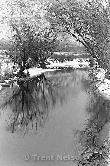 Winter creek.<br />