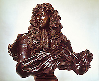 Gian Lorenzo Bernini, Sculptor.  Louis XIV, bronze.  National Gallery of Art, S. Kress Coll.  Reference only.