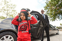 Sunshine Kids arrive in high style for the Once Upon a Time Childrens Gala at Naples Zoo ... photo/debi pittman wilkey