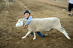 Opening day 78th Amador County Fair, Plymouth, Calif.<br /> <br /> Mutton Bustin'