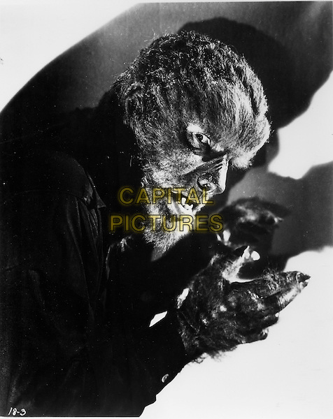 LON CHANEY JR..in The Wolf Man (1941).*Filmstill - Editorial Use Only*.CAP/FB.Supplied by Capital Pictures.