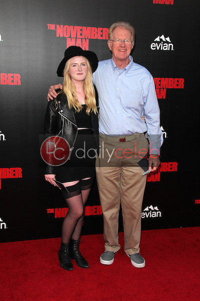 Hayden Begley, Ed Begley Jr.<br /> at the &quot;The November Man&quot; World Premiere, TCL Chinese Theater, Hollywood, CA 08-13-14<br /> David Edwards/DailyCeleb.com 818-249-4998