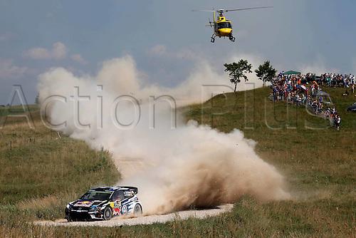 02.07.2016. Mikolajki, Poland. WRC Rally of Poland, stages 12-17.  Jari-Matti Latvala (FIN) – Miikka Anttila (FIN) - Volkswagen Polo R WRC