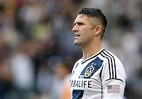 CARSON, CA - DECEMBER 01, 2012:   Robbie Keane (7) of the Los Angeles Galaxy against the Houston Dynamo during the 2012 MLS Cup at the Home Depot Center, in Carson, California on December 01, 2012. The Galaxy won 3-1.