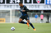 San Jose, CA - Saturday May 19, 2018: Danny Hoesen during a Major League Soccer (MLS) match between the San Jose Earthquakes and D.C. United at Avaya Stadium.