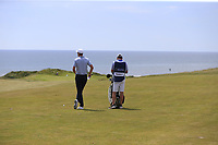 Ross Fisher (ENG) waits to play his 2nd shot on the 6th hole during Thursday's Round 1 of the Dubai Duty Free Irish Open 2019, held at Lahinch Golf Club, Lahinch, Ireland. 4th July 2019.<br /> Picture: Eoin Clarke | Golffile<br /> <br /> <br /> All photos usage must carry mandatory copyright credit (© Golffile | Eoin Clarke)