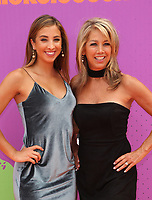 LOS ANGELES, CA July 13- Katie Austin, Denise Austin, At Nickelodeon Kids' Choice Sports Awards 2017 at The Pauley Pavilion, California on July 13, 2017. Credit: Faye Sadou/MediaPunch
