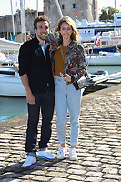 EDOUARD COURT, STEPHANIE CRAYENCOUR - 19EME FESTIVAL DE LA FICTION TV DE LA ROCHELLE, FRANCE, LE 15/09/2017.